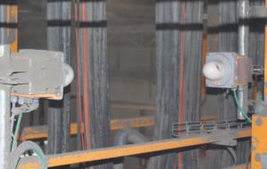 Позиционирование мостового крана и крановой тележки на цементном заводе
