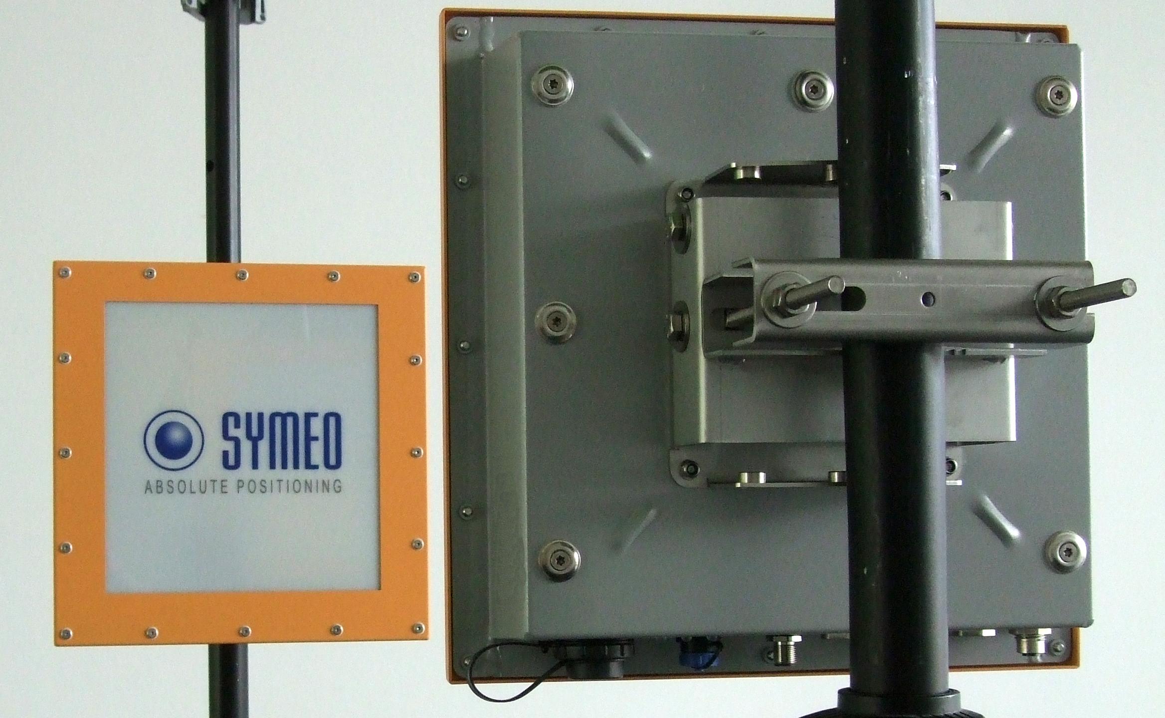 Промышленный датчик для измерения расстояния