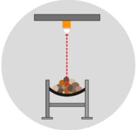 Типовые применения датчика расстояния LPR-1DHP-R