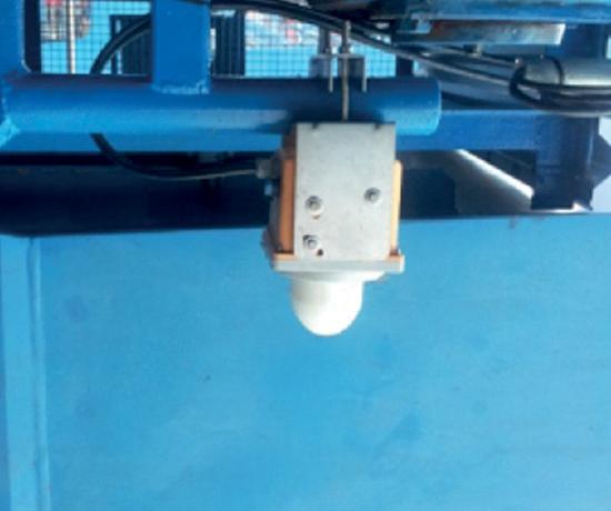Обнаружение сыпучих материалов на конвейерной ленте