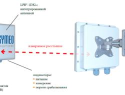 LPR-1DXi – компактный датчик определения расстояния со встроенным реле переключения