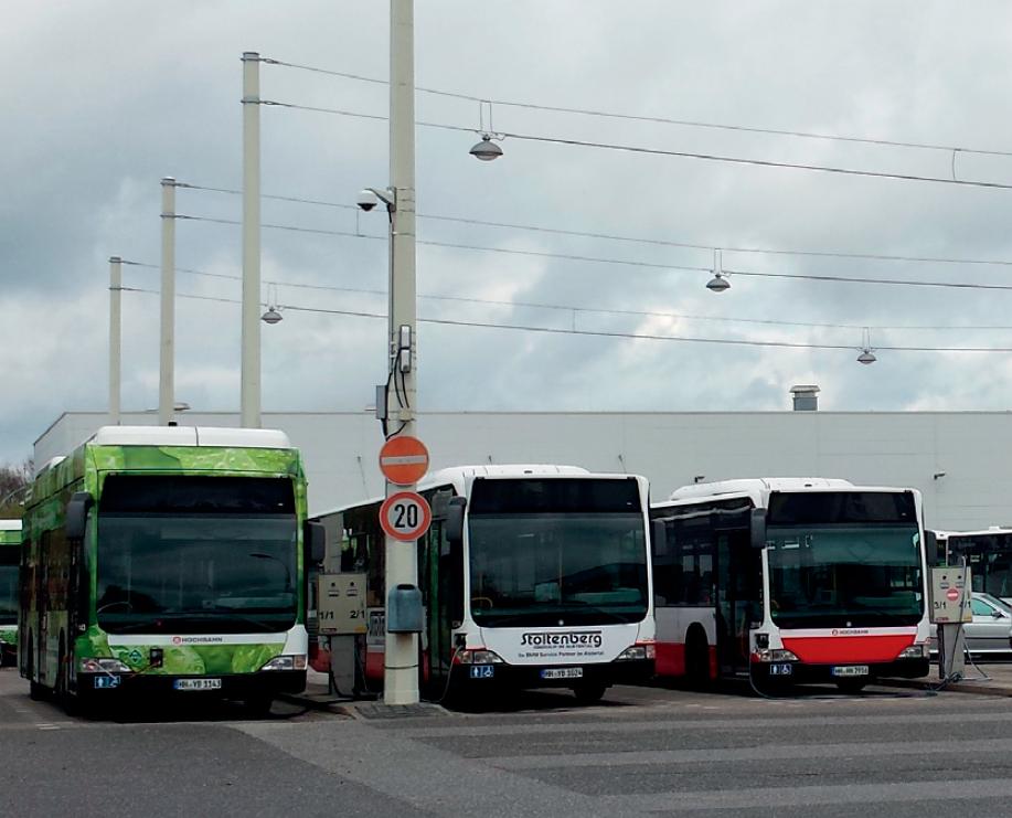 Определение положения автобусов в автопарке депо