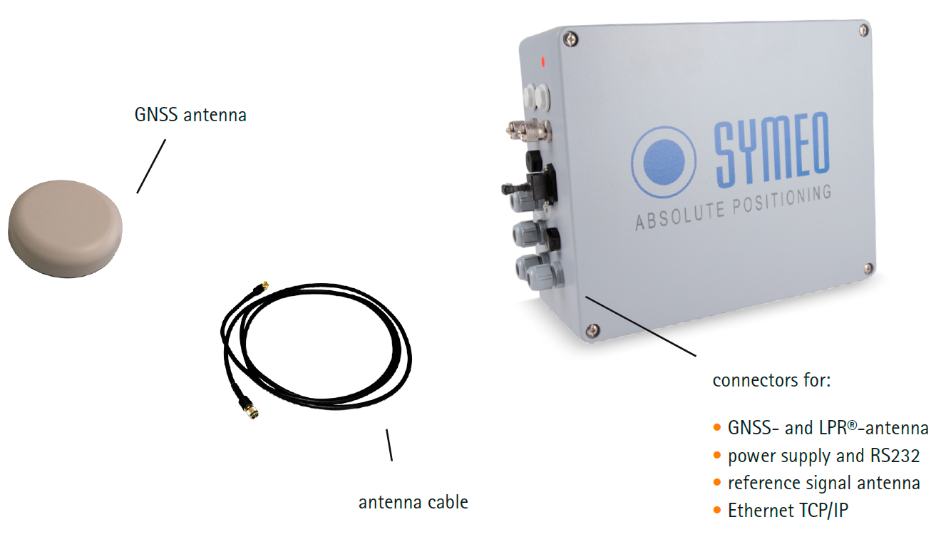 SAT / SAT-D - устройство спутникового позиционирования