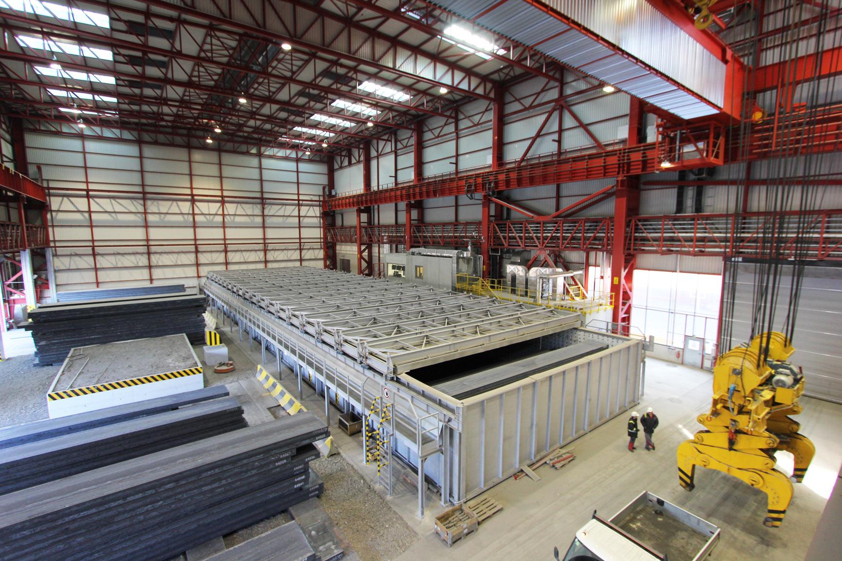 Радарные датчики для металлургической промышленности